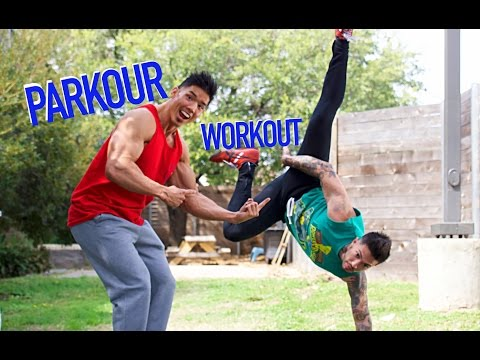HENRY TRIES PARKOUR?! | KILLER 10-MINUTE AB WORKOUT