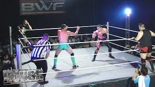 BWF In House IV - Matths Alves & Dante vs Touaregue & Evan
