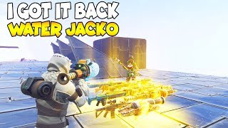 'NEW SCAM' Got My Water Jacko Back! 😱 (Scammer Gets Scammed) Fortnite Save The World
