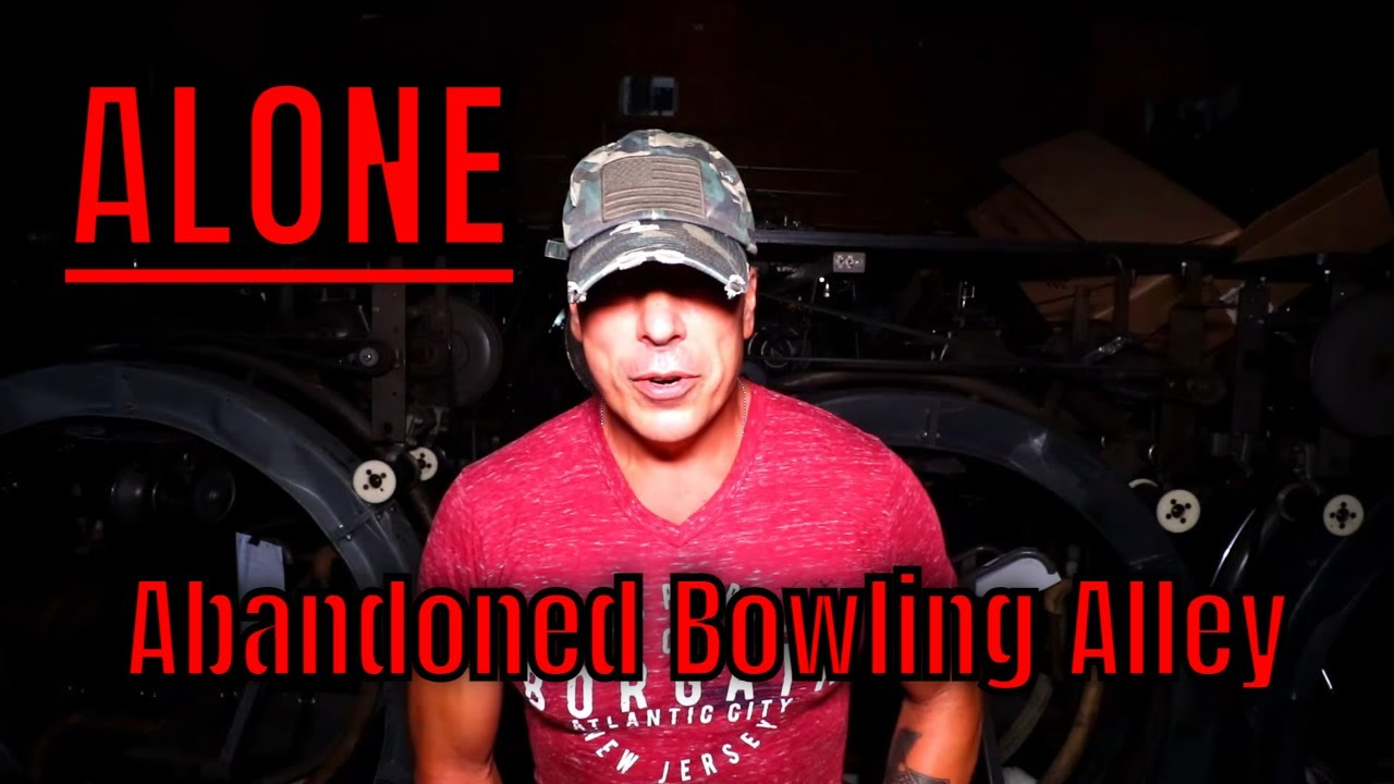 (ALONE AT THE HAUNTED BOWLING ALLEY) EVERYTHING LEFT BEHIND