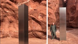Mysterious monolith discovered in Utah desert