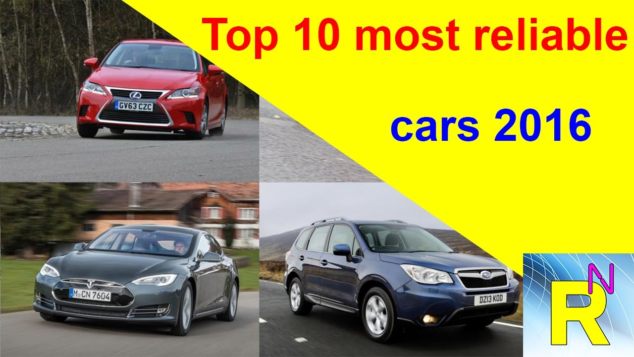car review top 10 most reliable cars 2016 read newspaper tv youtube. Black Bedroom Furniture Sets. Home Design Ideas