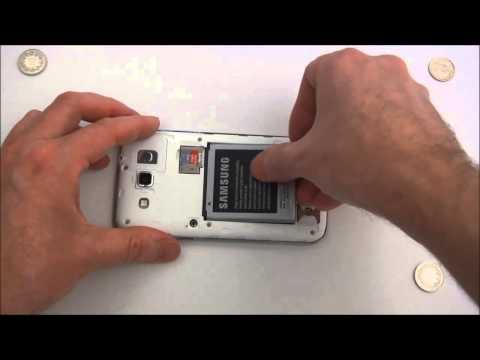 Samsung I8552 Galaxy Win DUOS - первое включение, предварительный обзор