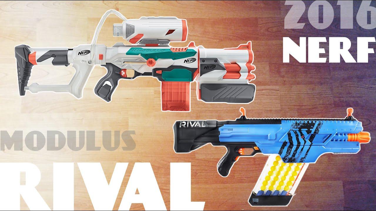 [NEWS] NEW 2016 Nerf MODULUS Tri Strike & RIVAL Khaos MXVI 4000 Blaster