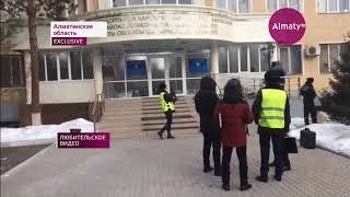 Глава алматинського філії ''Казводхоза'' викинувся з вікна 4-го поверху (06.02.18)