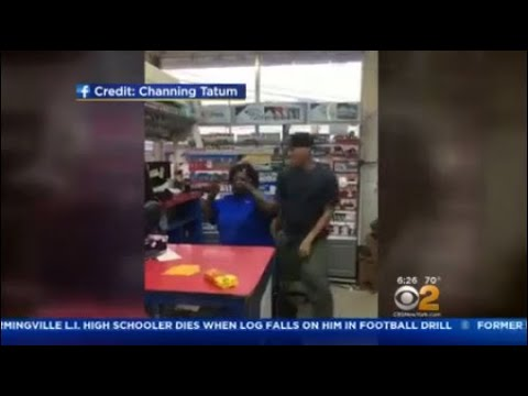 Channing Tatum Dances With Gas Station Attendant