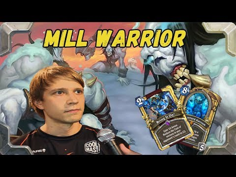 Savjz is playing DK Mill Warrior deck (The Frozen Throne)