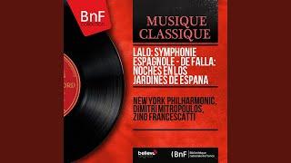 Symphonie espagnole, Op. 21: I. Allegro non troppo