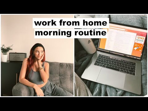 My Work From Home Morning Routine | Keaton Milburn