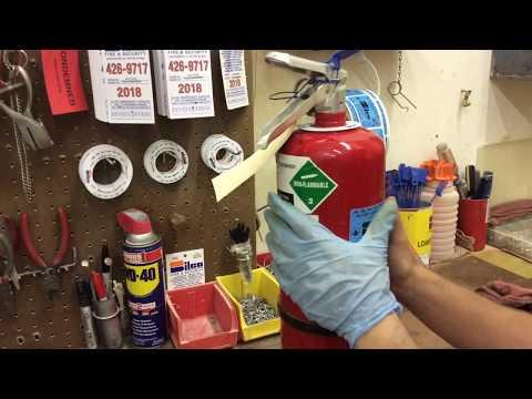 6 Year Fire Extinguisher Maintenance