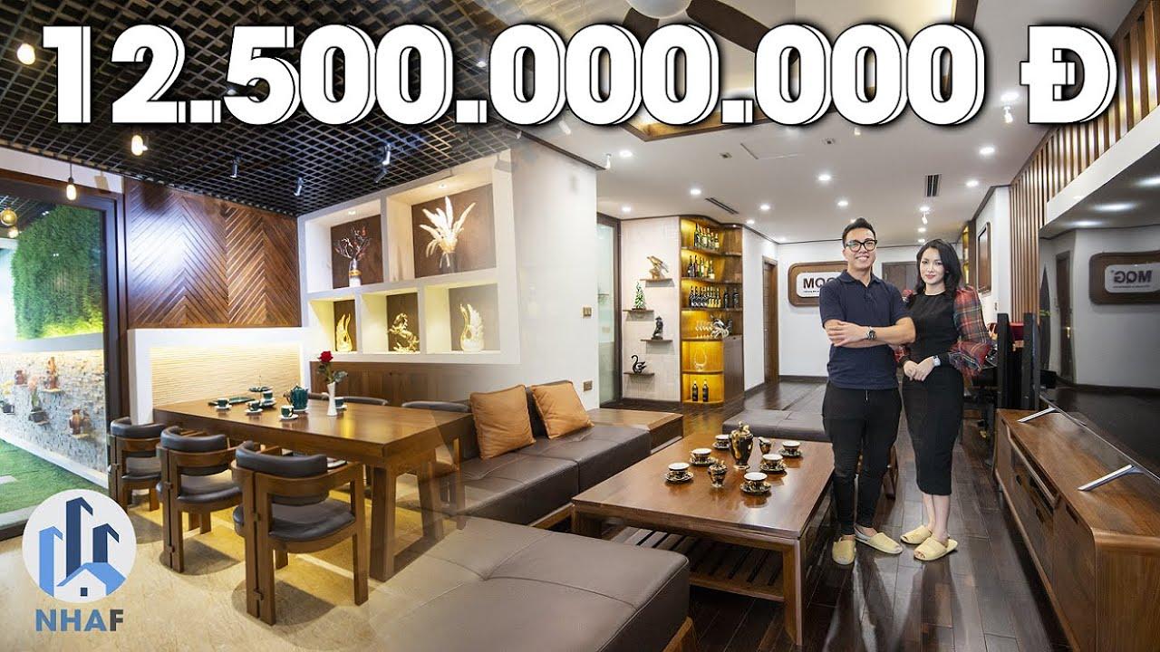 """Đột Nhập Căn Hộ Sân Vườn """"TOÀN GỖ ÓC CHÓ"""" rộng 200m2 trị giá 12,5 tỷ tại Imperia Garden – NhaF [4K]"""