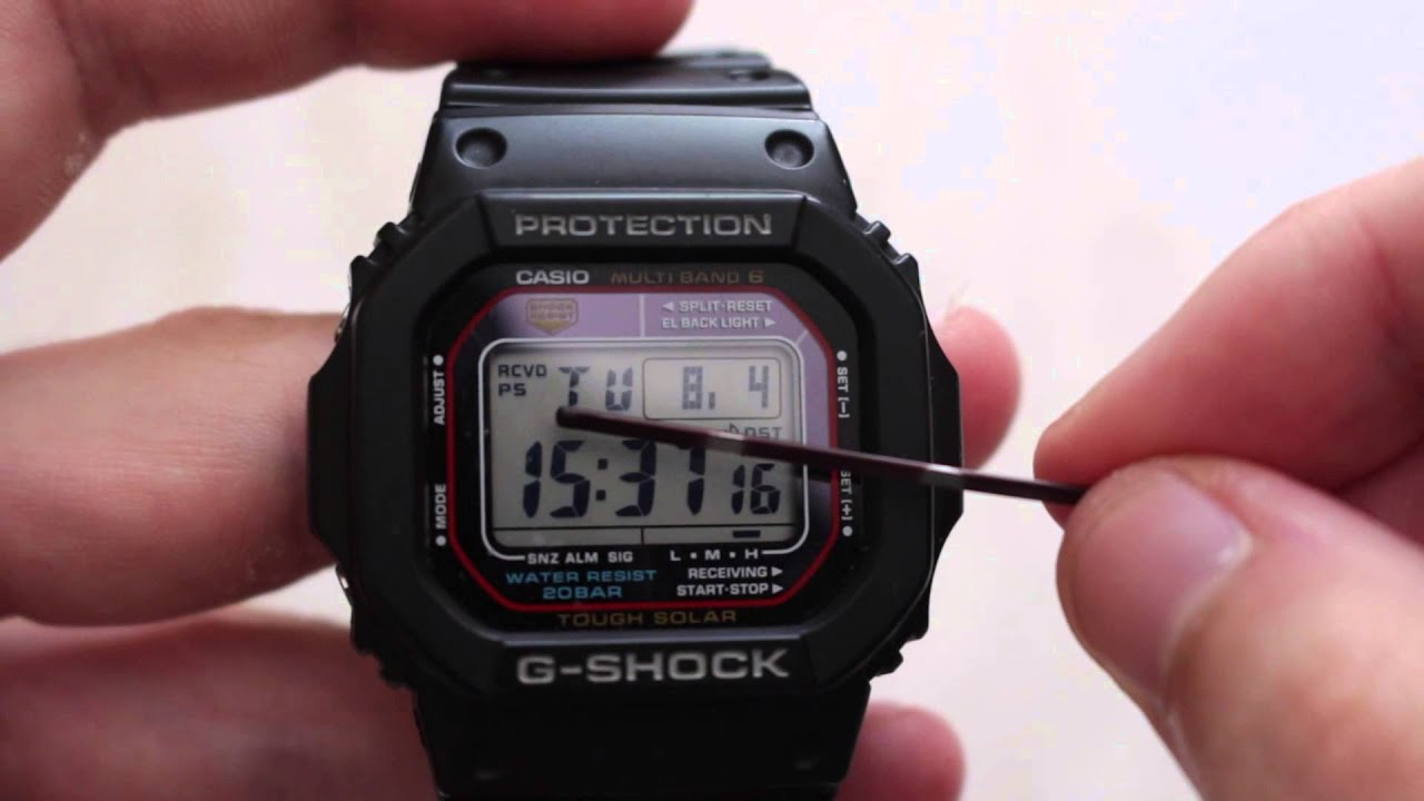 Casio gw-m5610bc-1 g-shock review youtube.