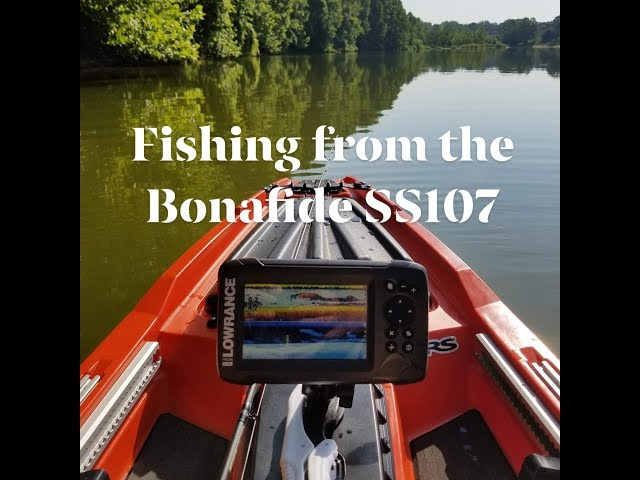 Fishing from the Bonafide SS107 (Sit/Stand 10' 7