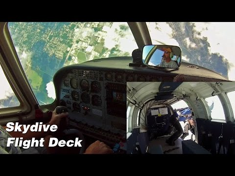Skydiving Flight - Skydive Deland PAC750, Complete Flight