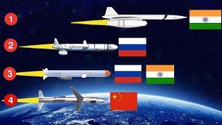दुनिया की 12 सबसे तेज़ क्रूज मिसाइल   12 Fastest Cruise Missiles in the World