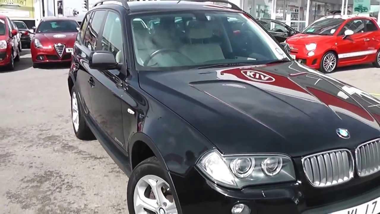 Used Car Bmw X3 Xdrive Se Black Registered In 2009