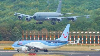 OOPS, WRONG AIRPORT - BYE - Boeing 707 TOUCH & GO at a civil airport (4K)