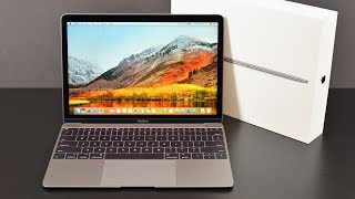 Gambar cover Apple MacBook 12-inch (2017): Unboxing & Review