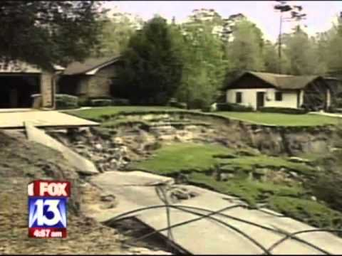 Sinkholes In Pasco County Florida