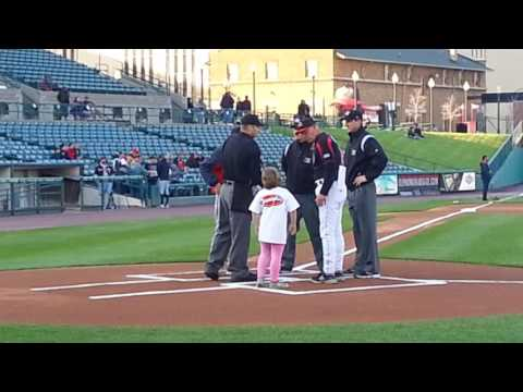 Honorary captain of the Rochester Red Wings