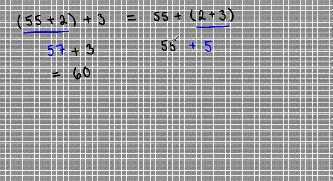 Associativa lagen - addition