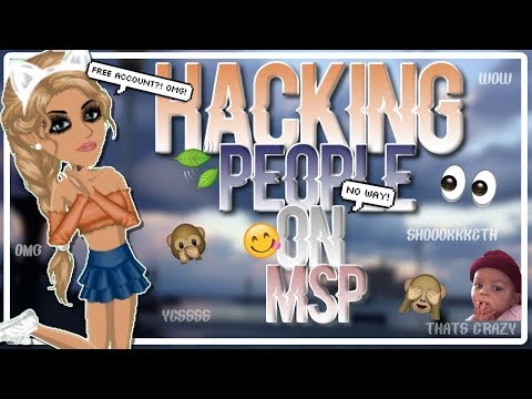 USING A WEBSITE TO HACK PEOPLE ON MSP | FREE ACCOUNT?!😱