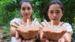 Yummy cooking Ice cram recipe  Natural life TV