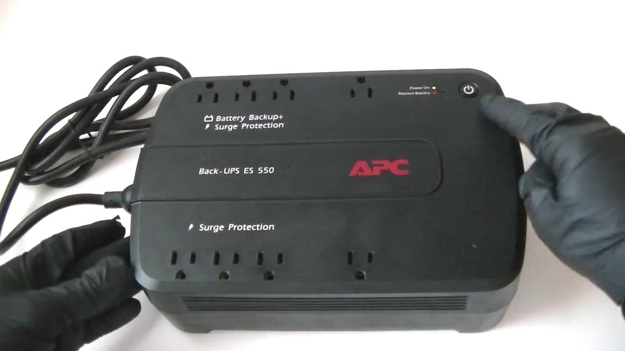 How to replace an APC Back-UPS ES 550 Battery