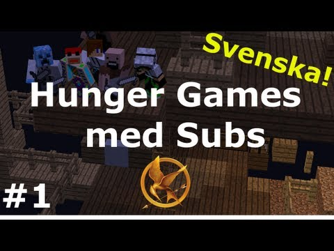 Minecraft - Hunger games med SUBS #1 [Tower Team] (svenska)