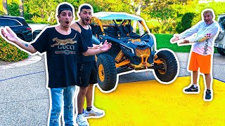 I Surprised FaZe Rug & Brawadis With a NEW CAR...