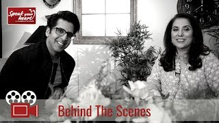Behind The Scenes With Khalid Malik On Speak Your Heart With Samina Peerzada