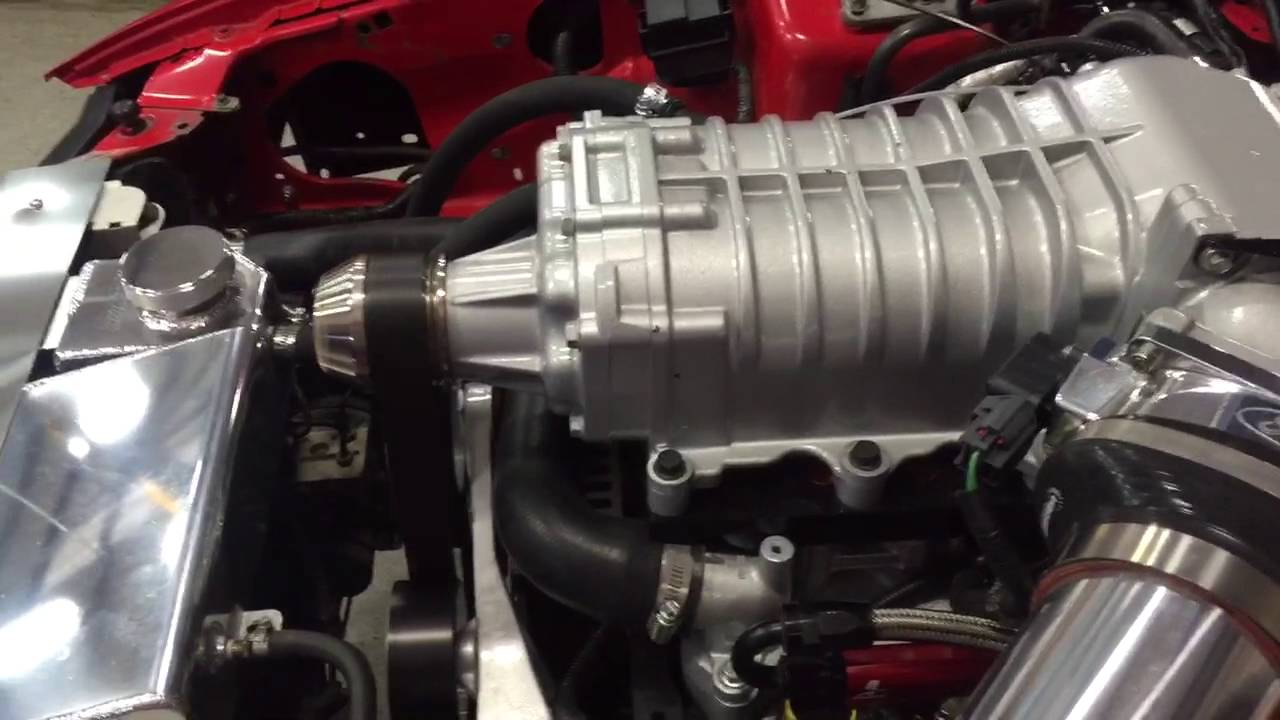 1999 Mustang GT 5 4L Lightning Swap with M122 Supercharger First Startup