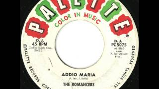 Romancers - Addio Maria - Fantastic Mid-Tempo Doo Wop