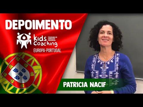 Kids Coaching Presencial Lisboa/Portugal - Depoimento de Patricia Nacif
