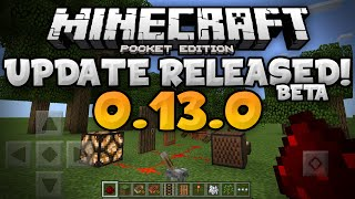 mcpe 0 13 0 released how to get the 0 13 0 beta builds minecraft pe pocket edition alpha