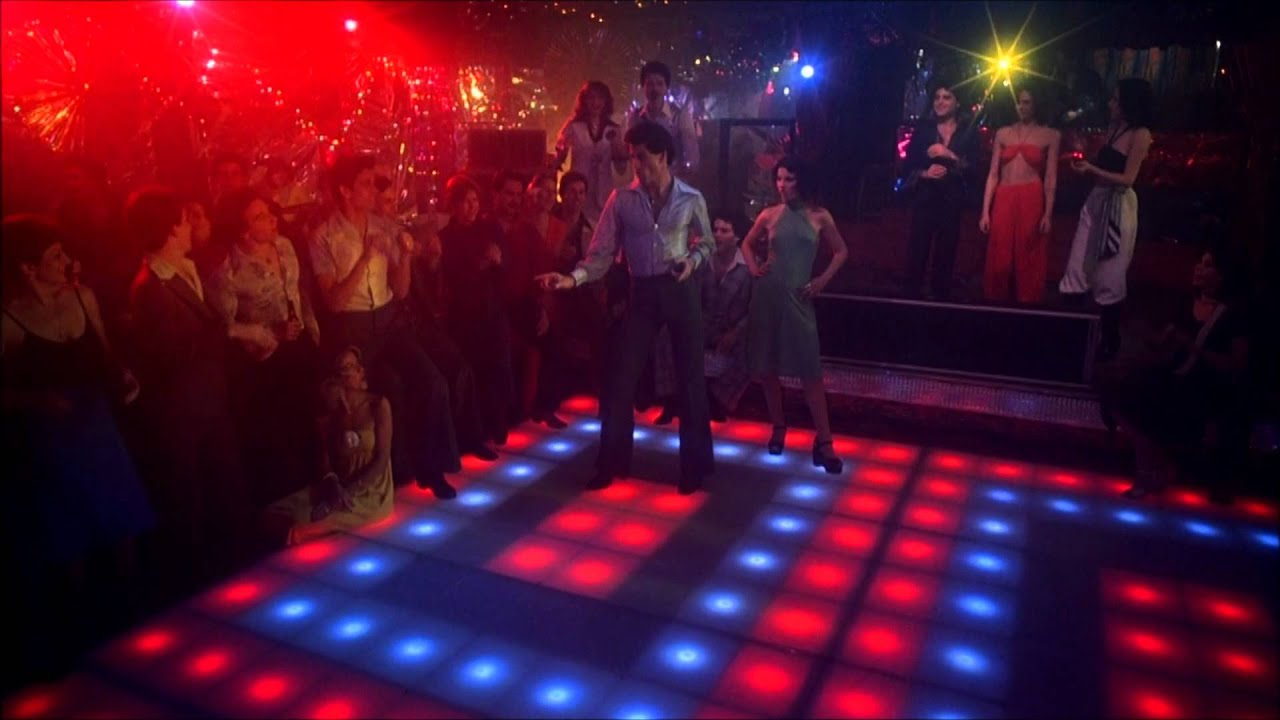 Download Saturday Night Fever (Bee Gees, You Should be Dancing) John Travolta HD 1080 with Lyrics