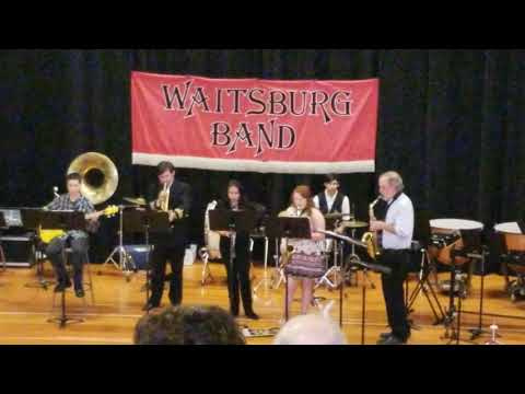 Do Nothing till You Hear from Me by Duke Ellington performed by Waitsburg High School Jazz Band