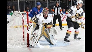 Vegas Golden Knights vs New York Rangers - October 31, 2017 | Game Highlights | NHL 2017/18