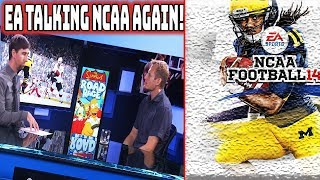 EA is Talking NCAA Football Again! But its Not What You Think...