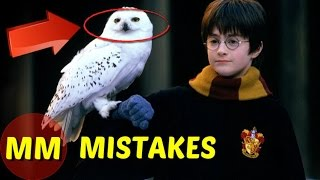 10 MISTAKES in Harry Potter the Sorcerer's Stone You Didn't Notice | Harry Potter Movie MISTAKES