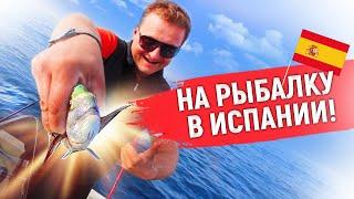 Морская рыбалка в Испании На рыбалку с Alegria