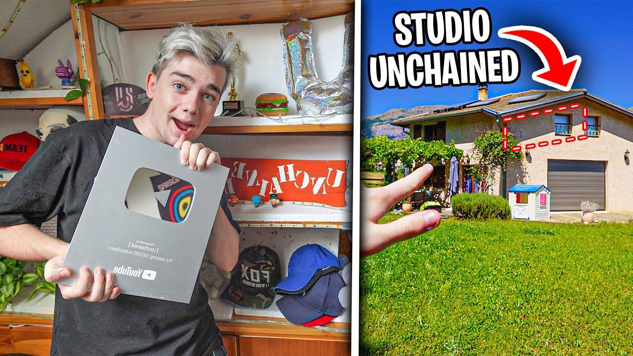 Je M'INFILTRE chez UNCHAINED ! (je cambriole son studio)
