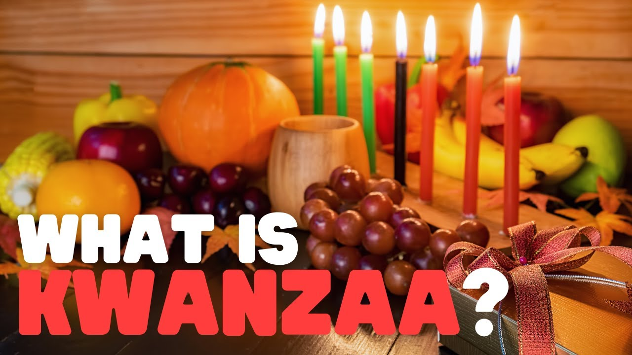What is Kwanzaa? How is Kwanzaa Celebrated? Learn about Kwanzaa for Kids in  this fun holiday video - YouTube [ 720 x 1280 Pixel ]