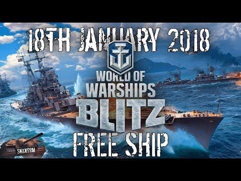 World of Warships Blitz Release Date + FREE Premium Ship!