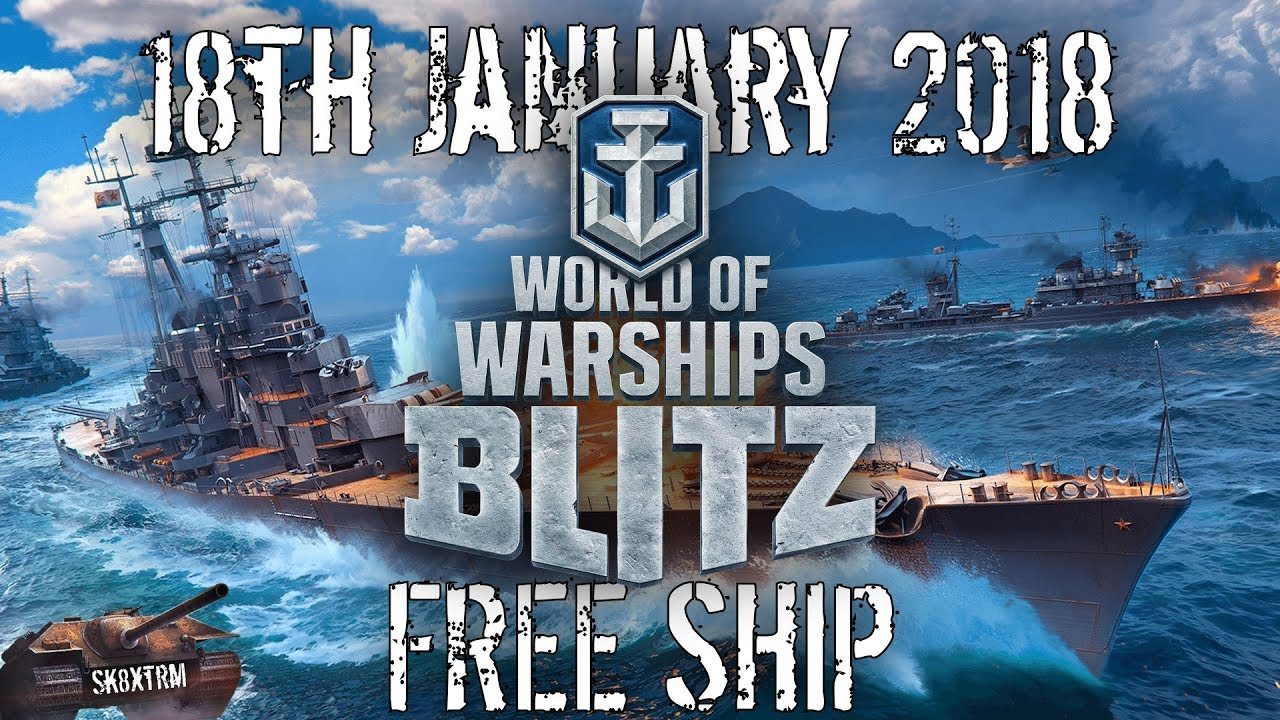 World of Warships Blitz Release Date + FREE Premium Ship!