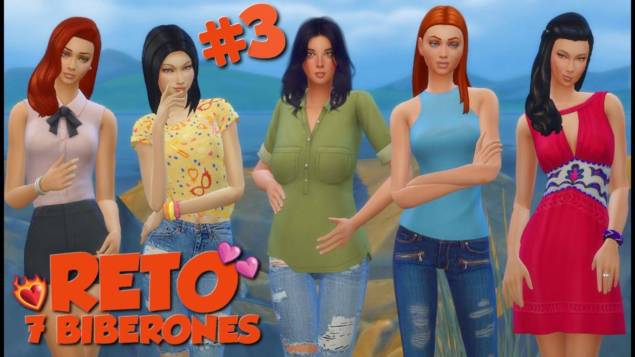 Reto De Los 7 Biberones Los Sims 4 Las Amigas De Mary Ep 3 Youtube