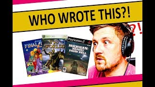 Voice actor reacts to and reviews the WORST voice acting in Video Games Part 2