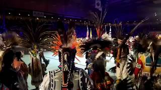 GATHERING OF NATIONS POW WOW 2019  : Grand Entry Victory Song