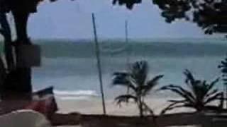 Incredible tsunami footage