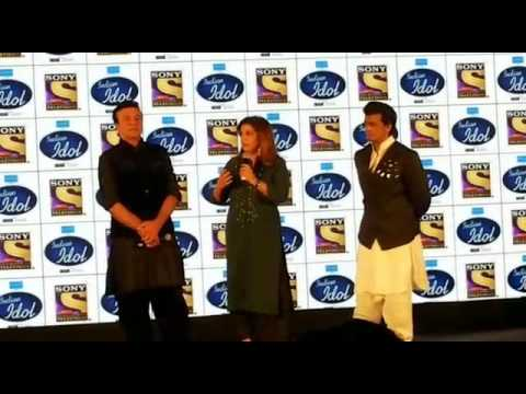 Farah Khan At Indian Idol Season 9 Press Conference | Anu Malik | Sonu Nigam | Indian Idol